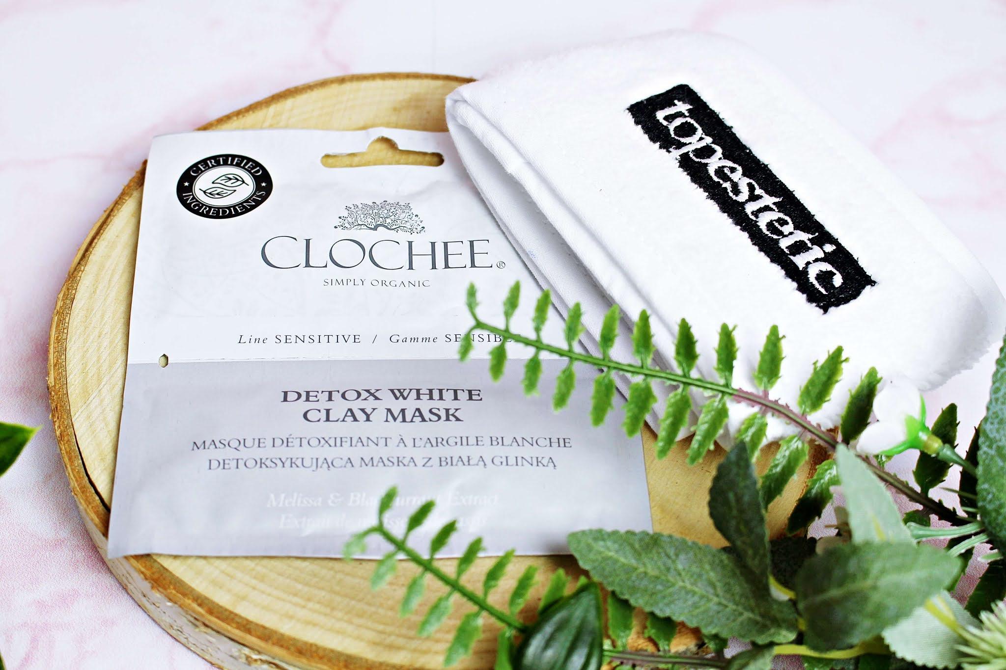 Maska z białą glinką Clochee, Detox White Clay Mask Detoksykująca