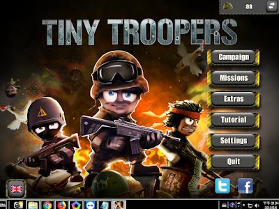 小小部隊中文版(Tiny Troopers),可愛好玩的3D效果動作射擊!