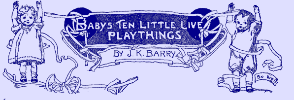 Baby's Ten Little Live Playthings