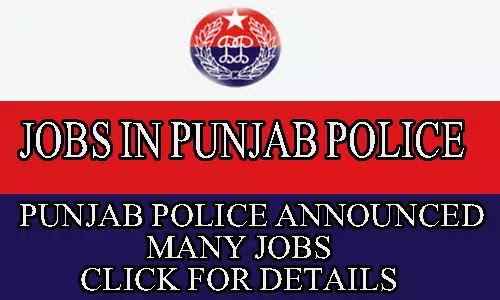 PUNJAB POLICE JOBS 2020 FOR CONSTABLE, ASI, SI LATEST JOBS
