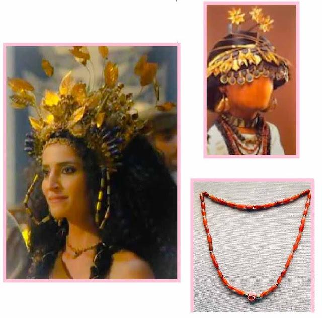 Rainha em genesis ao lado imagens joias museus