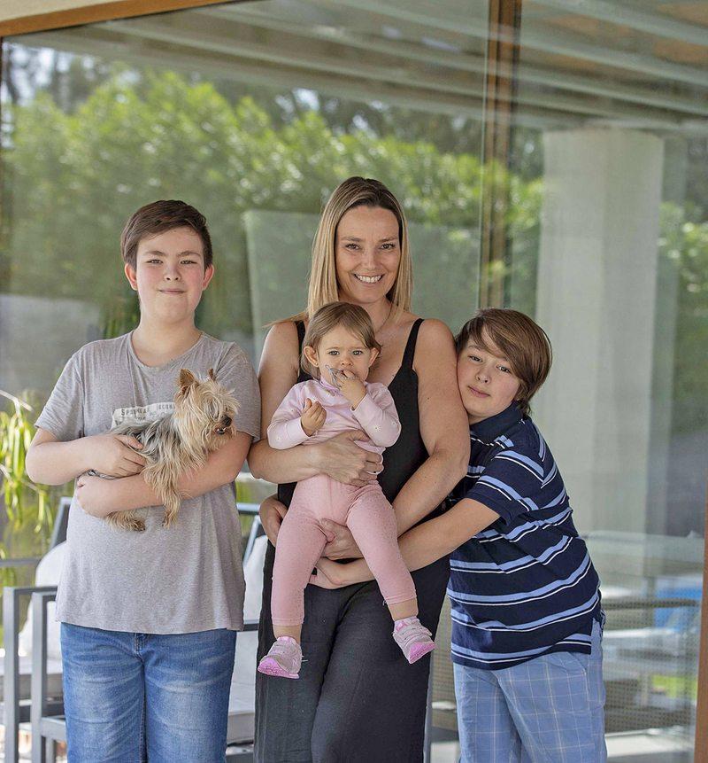 Christianne Balmelli cuenta cómo es volver a ser mamá a los 40