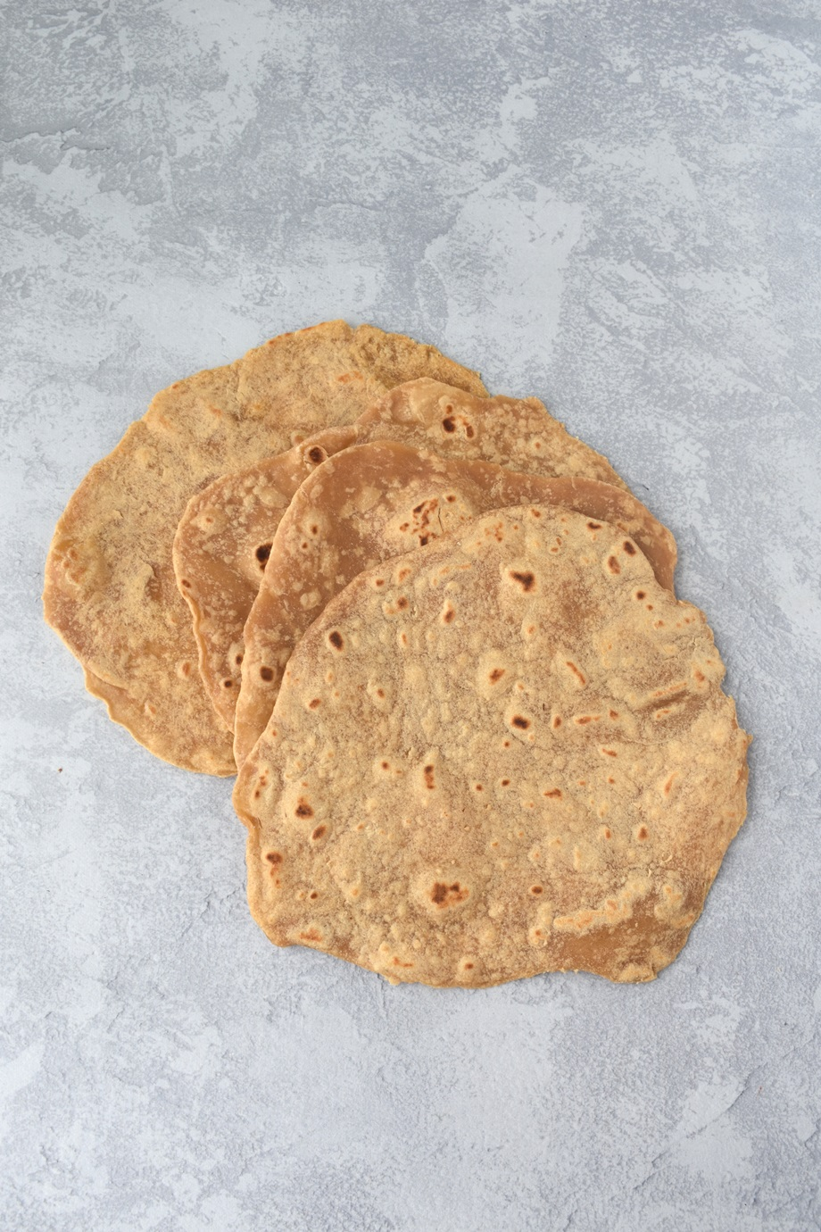 The easiest 3-ingredient whole-wheat tortillas