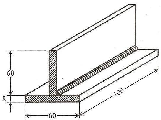 Welding-TEE FILLET JOINT ~ Ourengineeringlabs