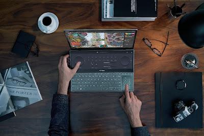 ASUS ZenBook Pro Duo 15 OLED Control Panel