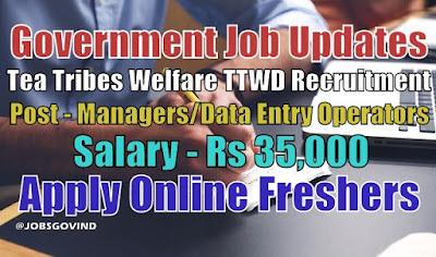 TTWD Recruitment 2021
