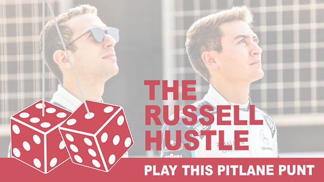 Play the Russell Hustle Pitlane Punt