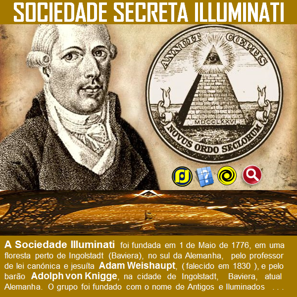 A história da Sociedade Secreta ILLuminati