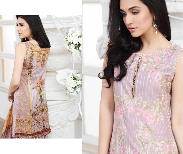 Zarqash Lawn Collection 2017 For Female