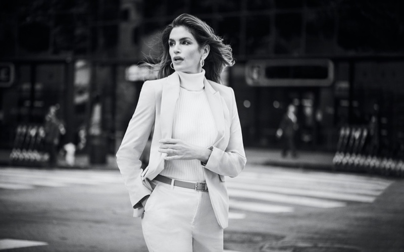 Cindy Crawford fronts Jones New York spring-summer 2020 campaign