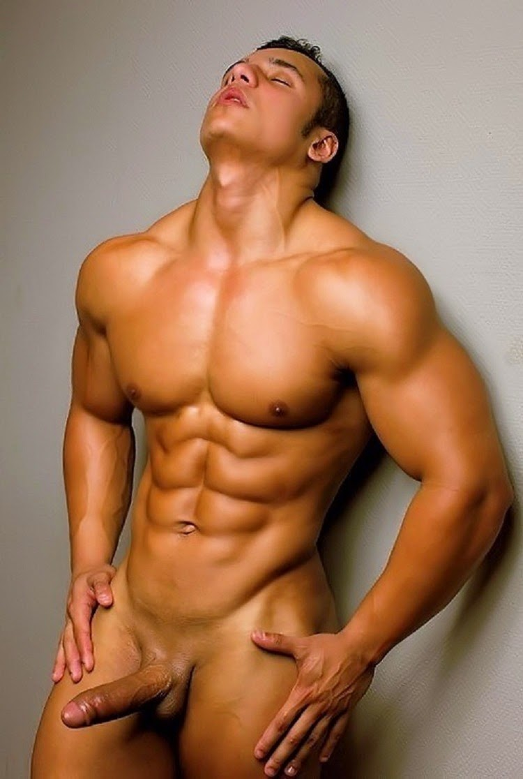 Naked Male Abs
