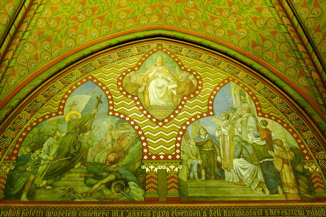 Matthias Church Frescoes