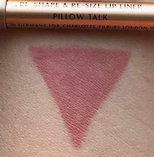 Charlotte Tilbury Lip Cheat Pillow Talk Swatch