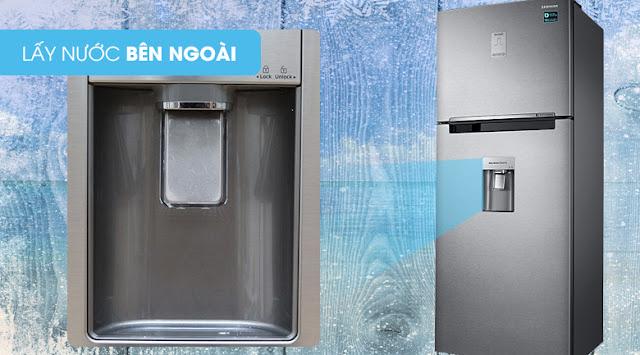 Tủ lạnh Samsung Inverter 451 lít RT46K6836SL/SV