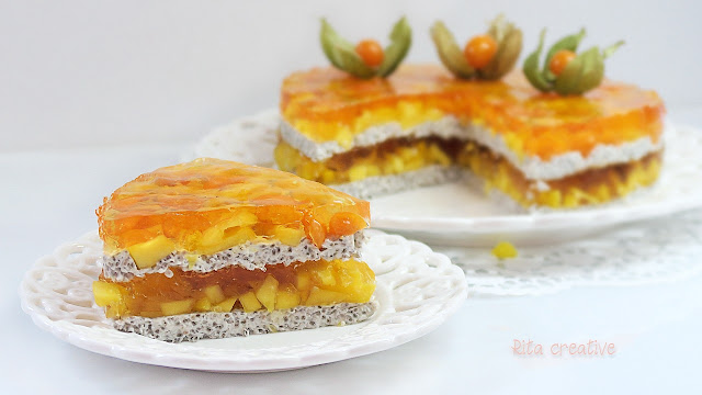 Miechunka peruwiańska - ciasto