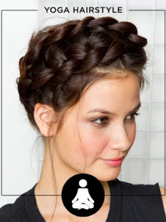 Workout Hairstyles - YOGA HAIRSTYLE