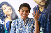 Sai Pallavi looks super cute in plain dress at her interview in Telugu about movie Fidaa ~ Exclusive Celebrities Galleries 023.JPG