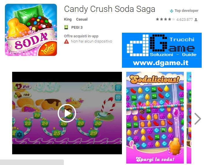 Soluzioni Candy Crush Soda Saga di tutti i livelli | Walkthrough guide
