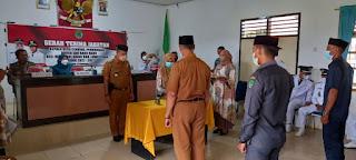 Kapolsek Malbar Hadiri Sertijab Kepala Desa Se- Kecamatan Malangke Barat