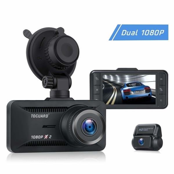 TOGUARD CE63 1080P Dual Dash Cam