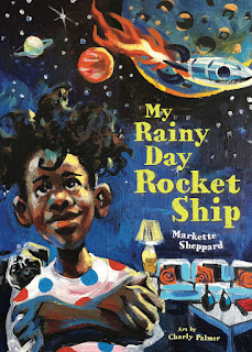 My Rainy Day Rocket Ship children's book