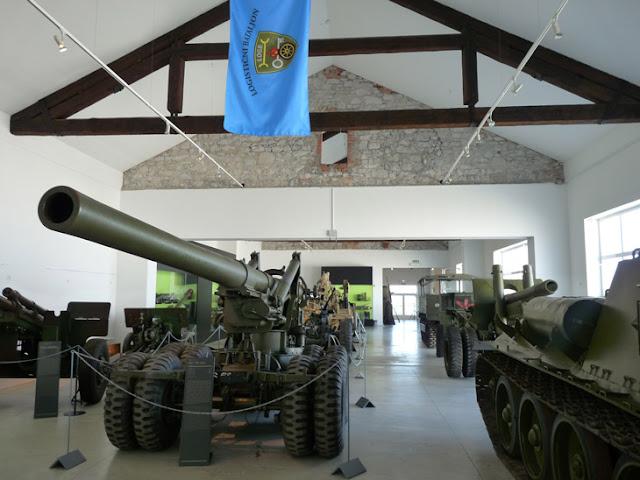Tanques en el Museo de Historia Militar de Eslovenia