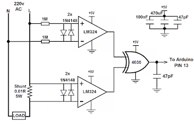 Power factor measurment using Arduino ~ Simple Projects