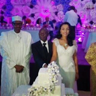 buhari governor oshio wedding