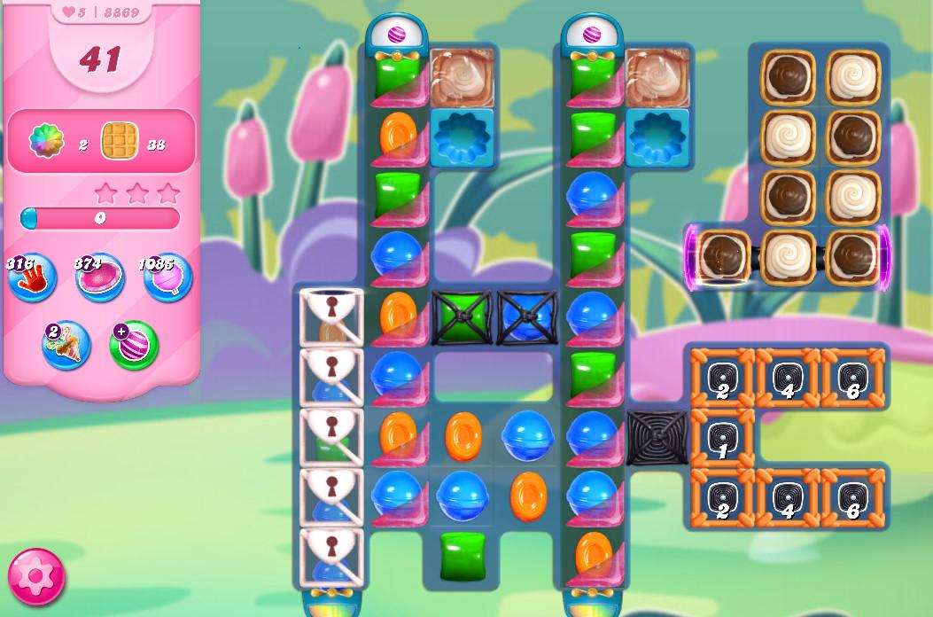 Candy Crush Saga level 8869