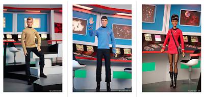 Poupée Barbie Star Trek 50ème anniversaire