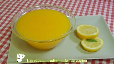Receta fácil de crema de limón para rellenos de pasteles y tartas