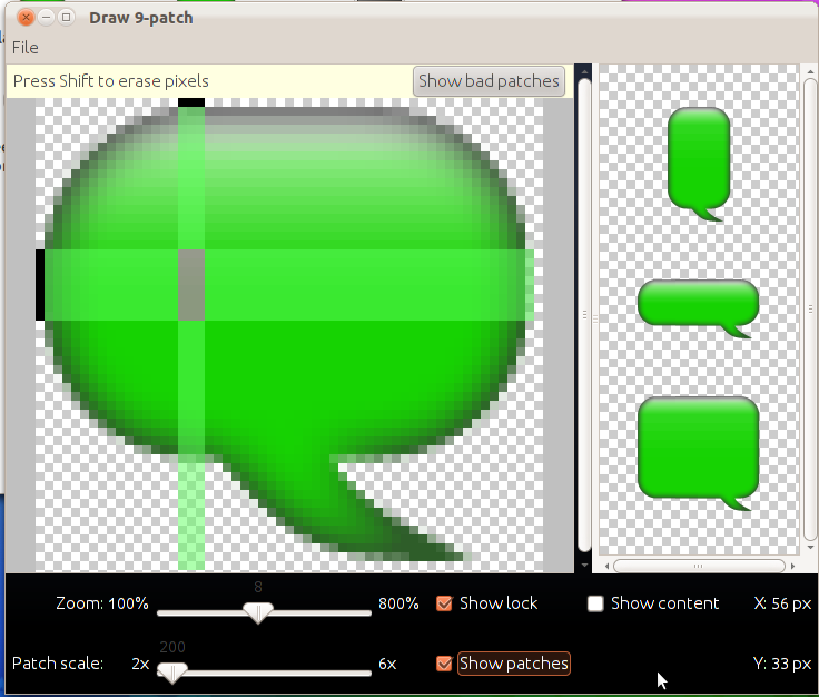 9-patch ( 9png) What is it and how to make it GUIDE - Themes