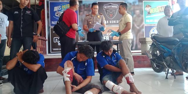 Polisi Tangkap Begal Dijalintim, Ternyata Warga Palembang