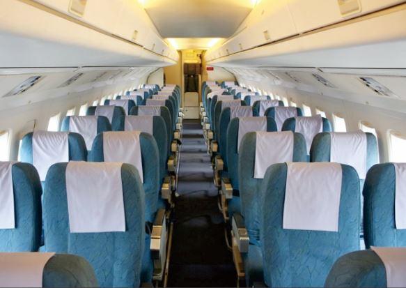 Fokker 50 interior
