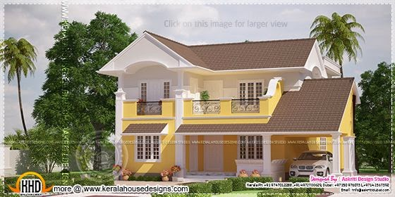 Home design yellow color