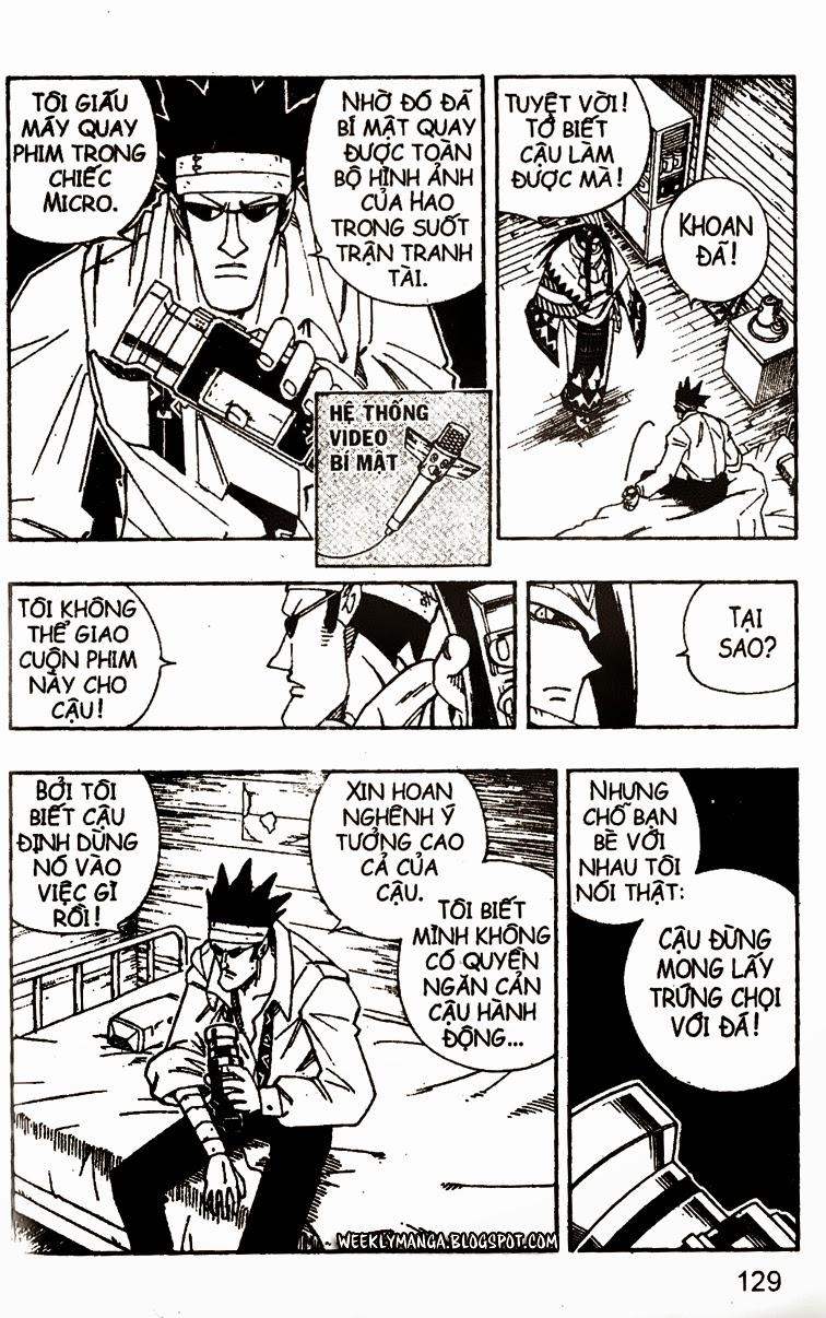 Shaman King [Vua pháp thuật] chap 141 trang 14