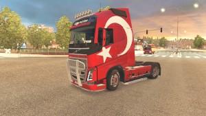 Türkiye (Turkey) skins for Volvo 2012&2013