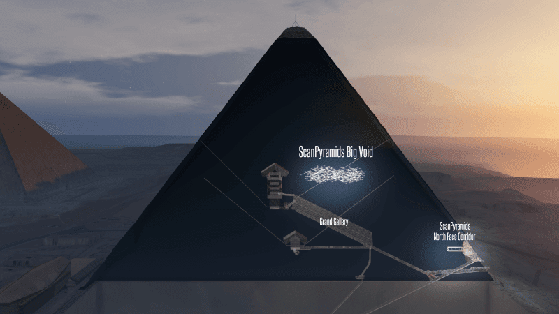 Scientists Have Discovered Suspected Secret Chamber In The Great Pyramid of Giza