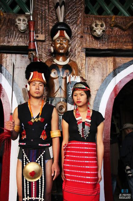 Phom Naga Traditional Dress