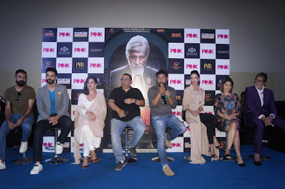 Big B Amitabh Bachchan and other in Pink