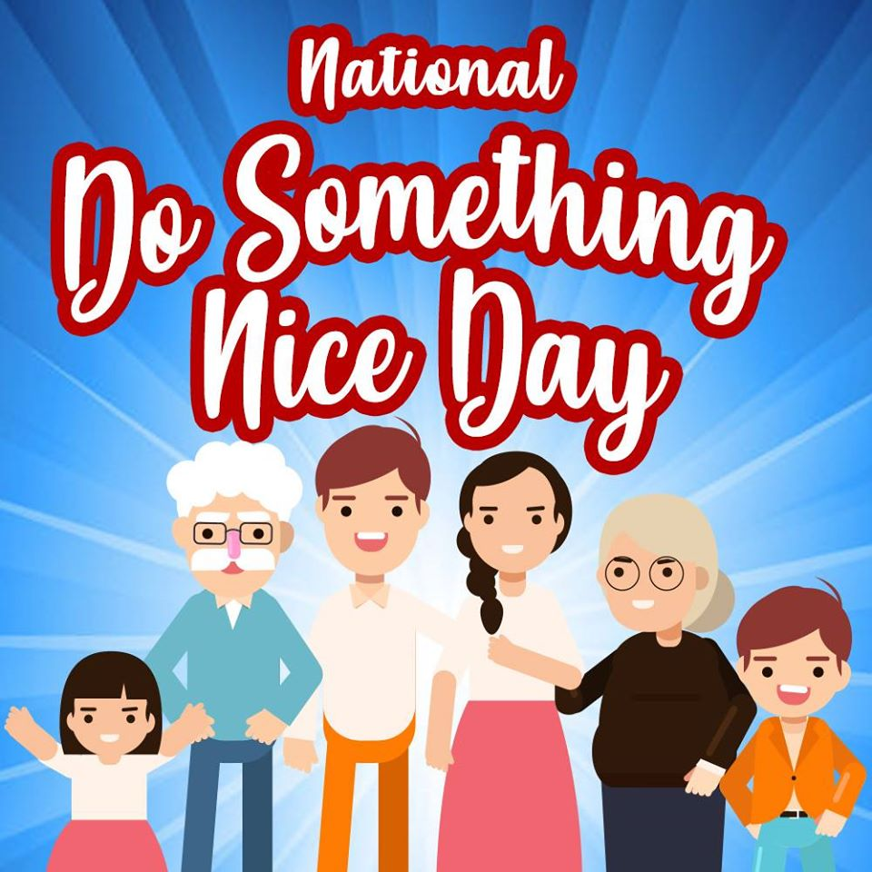 National Do Something Nice Day Wishes Awesome Images, Pictures, Photos, Wallpapers