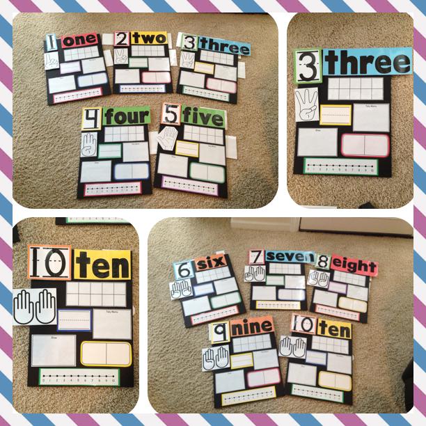 Number Boards