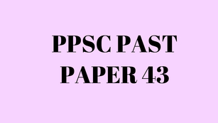 ppsc past paper of field assistant in agriculture department
