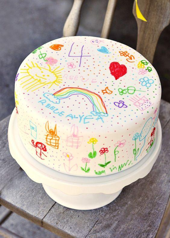 A child cake