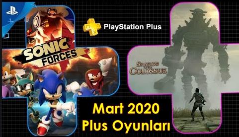 playstation plus mart 2020