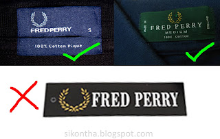 Fred Perry Real vs Fake