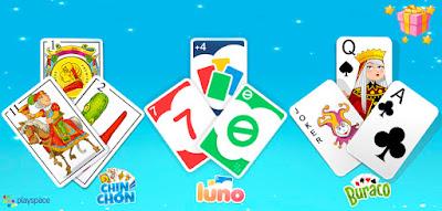 Juegos de cartas en familia
