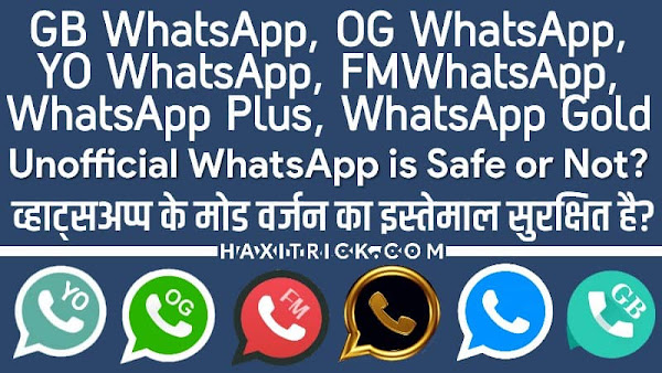 Is modded WhatsApp safe to use in hindi