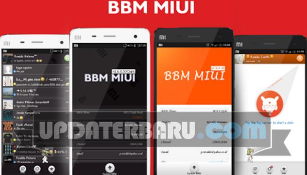 bbm miui apk for android versi terbaru clone bbm2 dual App