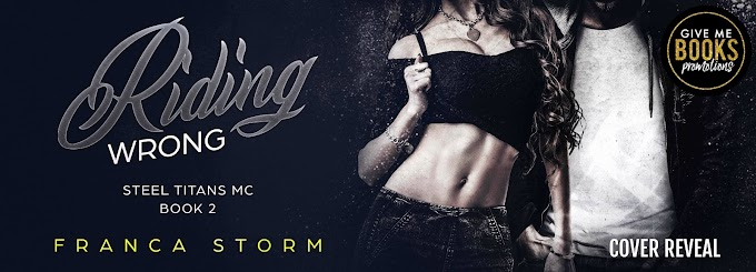 COVER REVEAL PACKET - Riding Wrong by Franca Storm